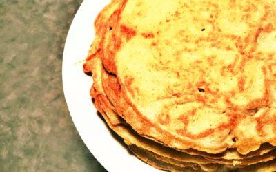 Gluten, -mælk og sukkerfrie pandekager